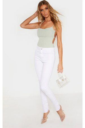 PRETTYLITTLETHING Tall Super Stretch Skinny Jeans