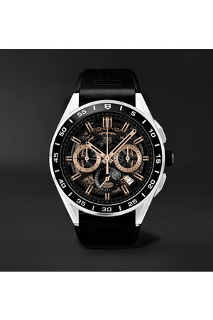 Tag Heuer Connected Modular 45mm Steel and Rubber Smart Watch, Ref. No. SBG8A10.BT6219