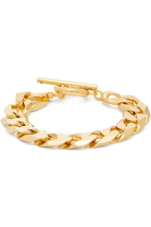 ALL BLUES Moto Flat-chain -vermeil Bracelet - Womens