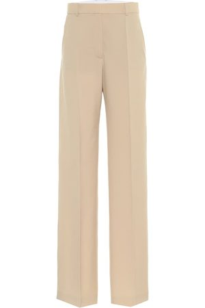 Stella McCartney Abby wool high-rise pants