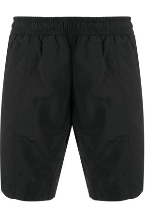 AMI Paris Men Swim Shorts - Ami de Coeur long swim shorts