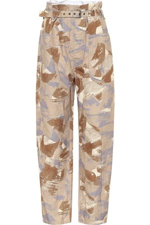 Isabel Marant Exclusive to Mytheresa - Iona high-rise cotton-blend pants