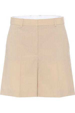Stella McCartney Amber wool Bermuda shorts