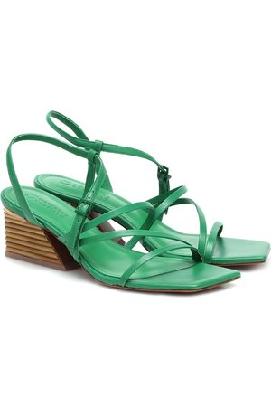 Mercedes Castillo Kelise leather sandals