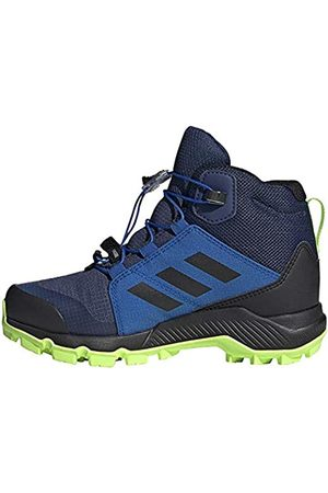 adidas Unisex Kids' Terrex Mid GTX K Trail Running Shoe, Tech Indigo/Core /Signal