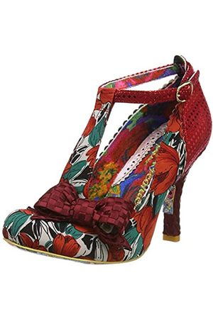 Irregular Choice Women's Bloxy Closed Toe Heels, ( Floral Fabric Af)
