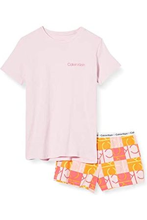 Calvin Klein Girl's Knit PJ Set (SS+Short) Pyjama