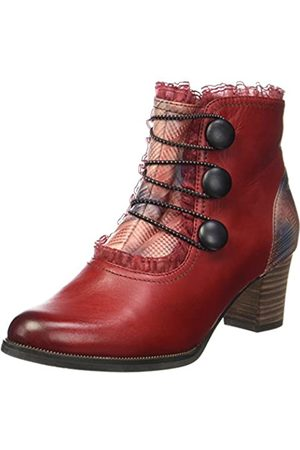 Laura Vita Women's Amelia 09 Ankle Boots, (Rouge Rouge)
