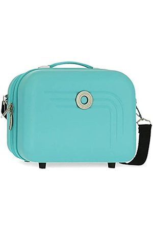 MOVOM Riga Turquoise ABS Adaptable Beauty Case