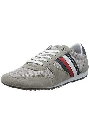 Tommy Hilfiger Men's Essential Mesh Runner Low-Top Sneakers, (Antique PRT)