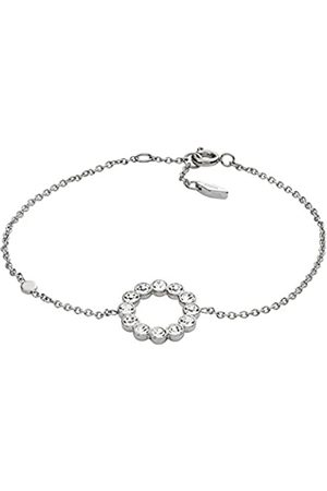 Fossil Women Stainless Steel Hand Chain Bracelet - JF02799040