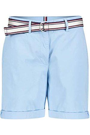 Tommy Hilfiger Women's GMD Cotton Tencel Slim Bermuda Jeans, (Sail Cyt)