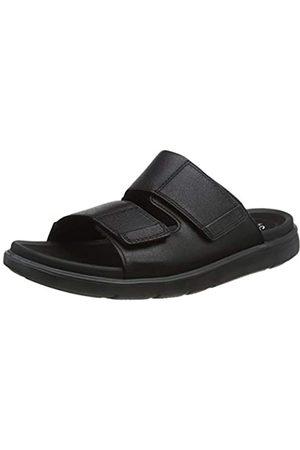 Clarks Men's Unwilmore Part Closed Toe Sandals, ( Leather Leather)