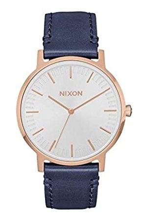 Nixon Men's Analogue Quartz Watch with Leather Strap A1058-2941-00