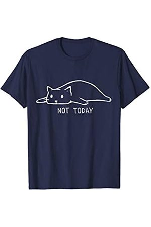 Vishtea Sorry I Cant Have Plans With My Cat Not Today Crazy Cat Lady T-Shirt