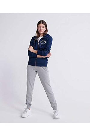 Superdry Women's Applique Serif Ziphood Hoodie