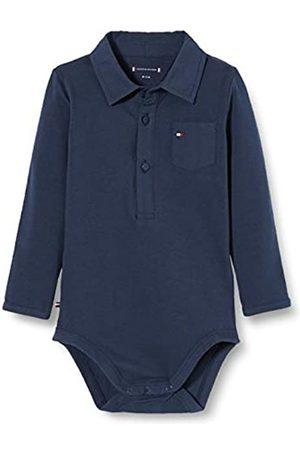 Tommy Hilfiger Baby Boys Poplin Body L/s Shaping Bodysuit