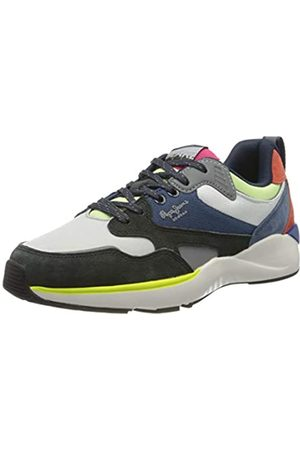 Pepe Jeans Men's Blake X73 Trainers, (Antracite 982)
