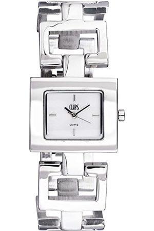 Clips Women's Quartz Watch 553-2003-88 with Metal Strap