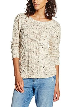 Mavi Women's Long Sleeve Sweater Sweatshirt, - (Oatmeal Melange 21732)