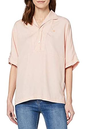 G-STAR RAW Women's Polo Loose Fit Blouse