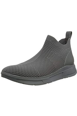 Fitflop Men's MAX FLEXKNIT Sneakers Trainers, (Ss20 Gargoyle 810)