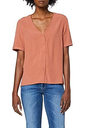 Pieces Women's Pccecilie Ss Top Noos Bc Blouse