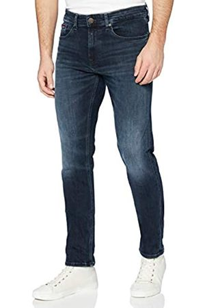 Tommy Jeans Men Slim - Men's Austin Slim Tapered WLBLK Straight Jeans