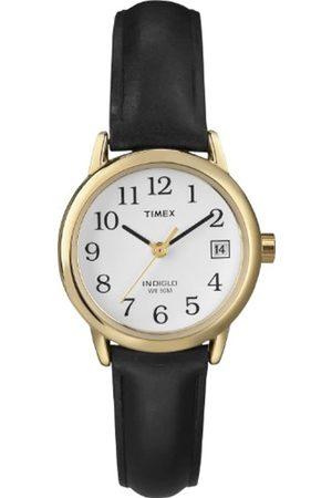 Timex Women's Easy Reader 25 mm Leather Strap Watch T2H341