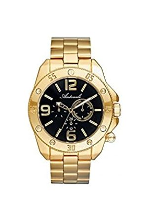 Antoneli Unisex-Adult Analogue Classic Quartz Watch with Stainless Steel Strap ANT1015