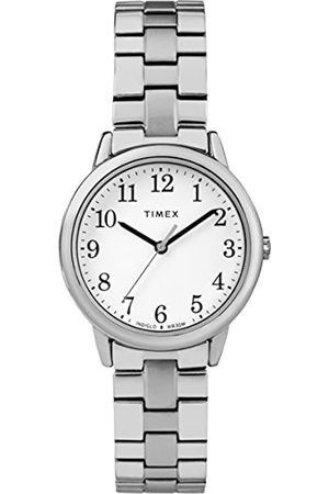 Timex Womens Analogue Classic Quartz Watch with Stainless Steel Strap TW2R58700