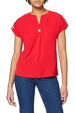 Dorothy Perkins Women's Button V-Neck T-Shirt