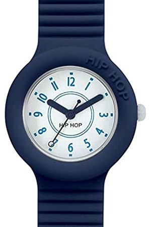 Hip Hop HIP-HOP Unisex Numbers Collection Watch Collection Mono-Colour dial 3 Hands Quartz Movement and Silicon Strap HWU0634