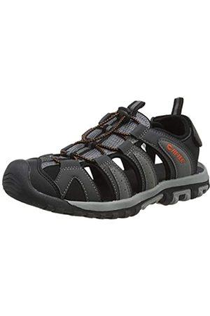 Hi-Tec Men's Cove Breeze Sports Sandals, (Charcoal/ / 052)