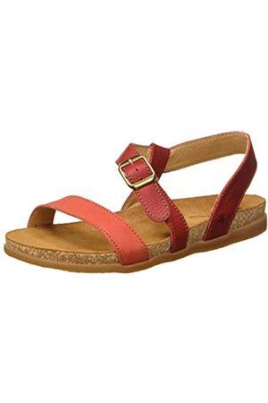 El Naturalista Women's N5245 Multi Leather Zumaia Open Toe Sandals, (Tibet Mixed Tibet Mixed)