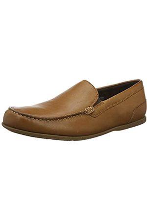 Rockport Men's Malcom Venetian Loafer Moccasins, (Ginger 007)