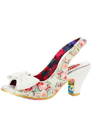 Irregular Choice Women's Hiya Synth Sling Back Sandals, ( C)
