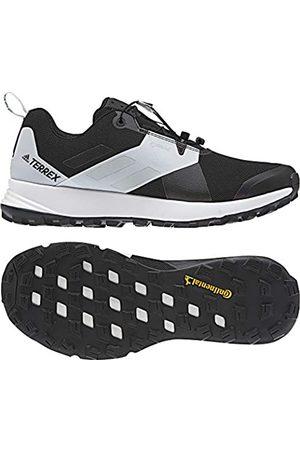 adidas Women's Terrex Two GTX W Competition Running Shoes, (Negbás/Gricua/Ftwbla 0)