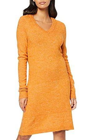 Vila NOS Women's Vivikka L/s Knit V-Neck Dress-Noos