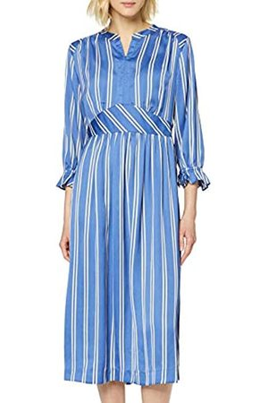 Scotch&Soda Women's Midi Length Dress with Fitted Waist