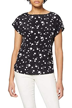 Dorothy Perkins Women's Daisy Print Turn Back T-Shirt