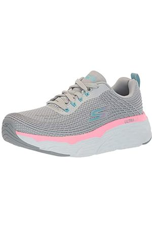 Skechers Women's MAX Cushioning Elite Trainers, ( Textile/ Trim Gypk)