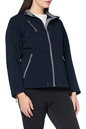 James Harvest Women's Savannah Softshell Jacket Plain Turtleneck Long Sleeve Jacket