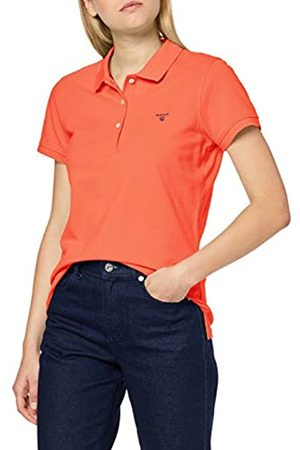 GANT Women's Md. The Summer Pique Polo Shirt