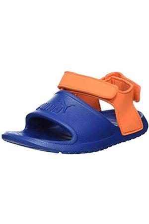 Puma Unisex Kid's DIVECAT V2 INJEX INF Beach & Pool Shoes, (Bright Cobalt-Firecracker 04)