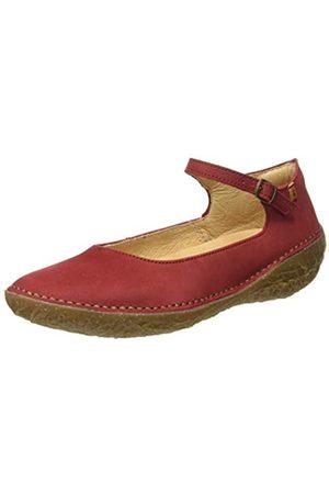 El Naturalista Women's N5720 Pleasant BORAGO Ankle Strap Ballet Flats, (Tibet Tibet)