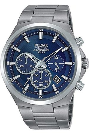 Pulsar Men's Analogue Quartz Watch with Stainless Steel Strap 8431242963587