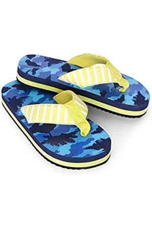 Hatley Boys Flip Flops, (Dino Camo 400)