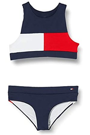 Tommy Hilfiger Girl's Crop TOP Set Bikini