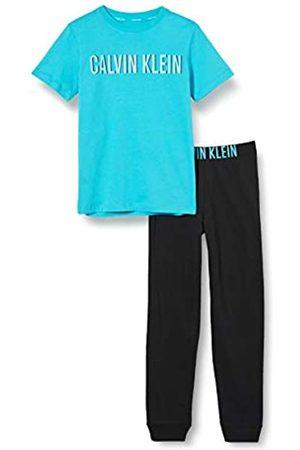 Calvin Klein Boy's Knit PJ Set (SS+Cuffed Pant) Pyjama